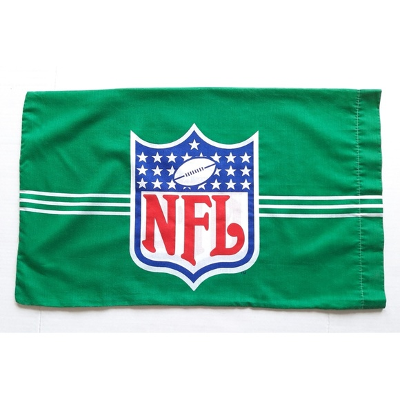 NFL Other - NFL Football 1989 Vintage Green Pillow Case